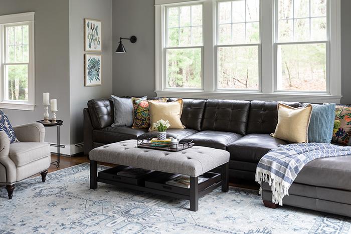 Living Room Interior Design Boston