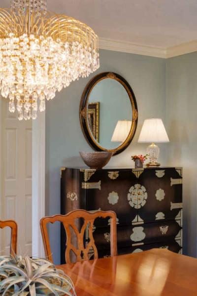 Formal Dining Room Details By Vivian Robins Design