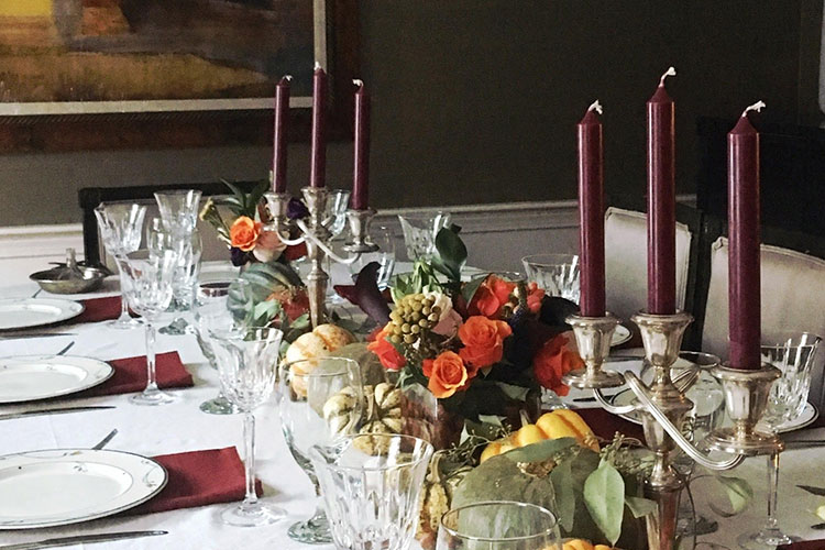 First Impressions: Thanksgiving Tablescape Design
